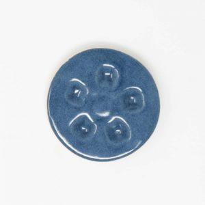 43021 Havblå blank ler 254