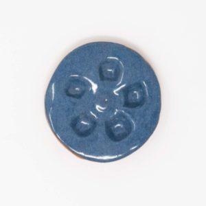 43021 Havblå blank ler 354