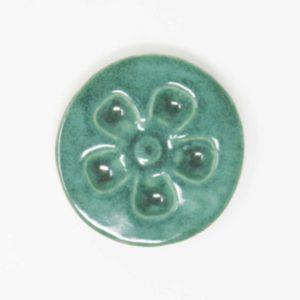 43028 Lyssegrøn plettet ler 254