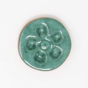 43028 Lyssegrøn plettet ler 354