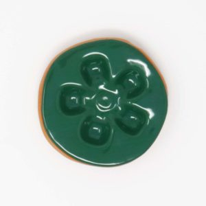 43033 Grøn blank ler 354