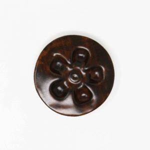 43035 Træbrun silkemat ler 254