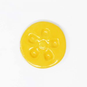 43057 Varm gul blank Ler 254