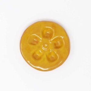 43057 Varm gul blank Ler 354