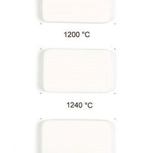 Hvid Transparent porcelænsler 1101
