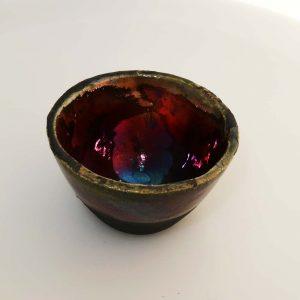 Rakuglasur MørkegrønKobber 1025°C 47108