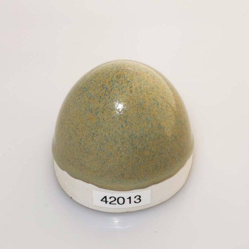 Stentøjsglasur Grå med effekt blank 42013 på Ler 1105