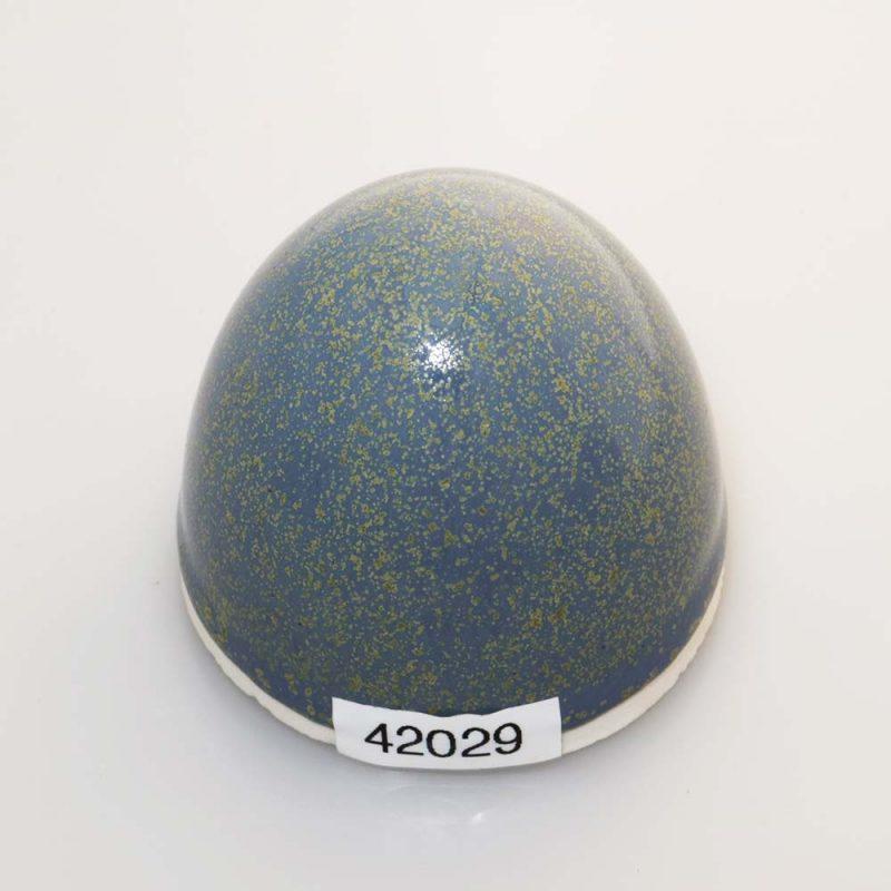 Stentøjsglasur GrønBlå med effekt silkemat 42029 på Ler 1105