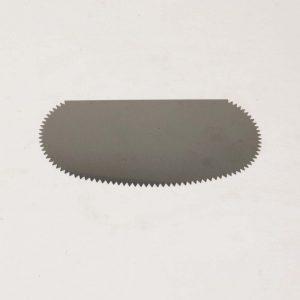 64016 Ziehklinge - rundet form med takker