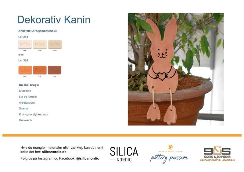 Dekorativ kanin vejledning download