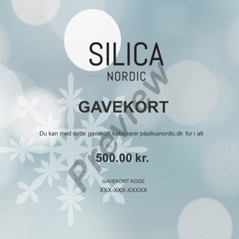 silica nordic gavekort preview